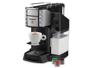Cuisinart EM-600 Black Buona Tazza Superautomatic Single Serve Espresso, Caffe Latte, Cappuccino & Coffee Machine