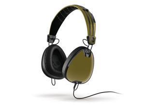 Skullcandy Aviator Supreme Sound Headphones with Mic3 in Green/Black Roc Nation
