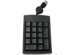 USB 17 keys Numeric Number Keypad Keyboard For Laptop