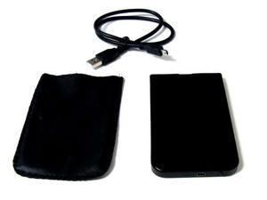 "USB 2.0 2.5"" SATA Hard Disk Drive HDD Black Enclosure/Case #B"