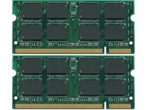 2GB (2x1GB) RAM Memory DDR2 Dell Latitude D620
