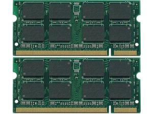 4GB (2X2GB) DDR2-800 SODIMM Gateway LT Series Laptop Memory PC2-6400