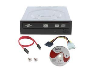 Lite-on iHAS224-06 24X SATA Lightscribe DVD CD Internal Burner Drive + Software