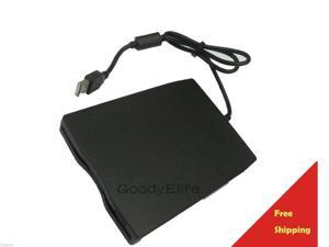 "USB2.0 USB 2.0 External Portable 1.44MB 3.5"" Slim Floppy Disc Disk Drive Win7 64"