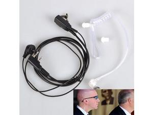 Throat Mic Earpiece Headset Headphone For Baofeng UV5R UV3R Kenwood 2-pin Type