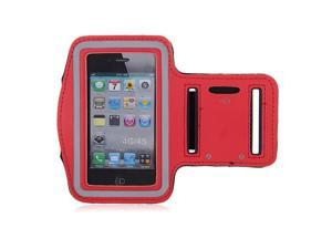 Adjustable Sports Gym Running Armband Arm Band Case For 4.7 inch Apple iPhone 6(Red)