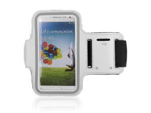 Adjustable Gym Sport Running Armband Arm Band Case Cover for Samsung Galaxy S3 S III i9300 Phone(White)