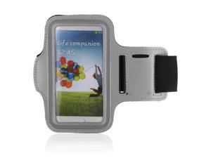 Adjustable Gym Sport Running Armband Arm Band Case Cover for Samsung Galaxy S3 S III i9300 Phone(Grey)