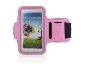 Adjustable Gym Sport Running Armband Arm Band Case Cover for Samsung Galaxy S3 S III i9300 Phone(Pink)