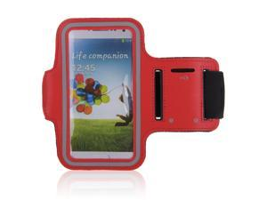 Adjustable Gym Sport Running Armband Arm Band Case Cover for Samsung Galaxy S3 S III i9300 Phone(Red)
