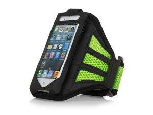 Mesh Gym Armband Case Sports Running Jogging Cover For Apple iPhone 4 4s Green