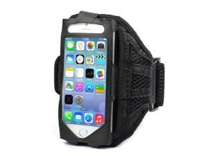 Mesh Gym Armband Case Sports Running Jogging Cover For Apple iPhone 4 4s Black