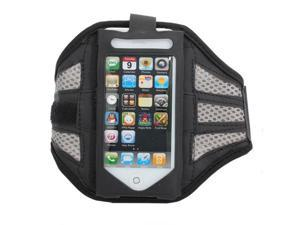 Mesh Gym Armband Case Sports Running Jogging Cover For Apple iPhone 4 4s Grey
