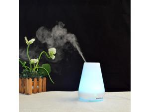 Anself 100ml Ultrasonic Air Humidifier Aroma Diffuser Fragrance Sprayer Office Purifier Mist Maker with Colorful LED Light AC100-240V