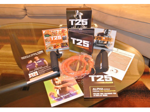 T25 Focus Alpha-Beta Workout 10 DVD Set with Resistance Band