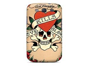 Snap-on Ed Hardy Case Cover Skin Compatible With Galaxy S3