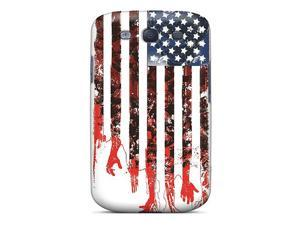 Tough Galaxy MCI1119WsbB Case Cover/ Case For Galaxy S3(tattered American Flag)
