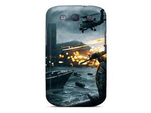 Flexible Tpu Back Case Cover For Galaxy S3 - Battlefield 4 Siege Of Shanghai