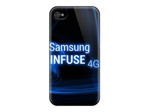 Iphone 4/4s Hard Back With Bumper  Gel Tpu Case Cover Samsung Infuse 4g
