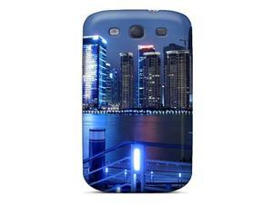 For s Galaxy Protective Case, High Quality For Galaxy S3 China Shanghai City Skin Case Cover