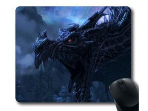 "for Skyrim logo Mousepad, Customized Rectangle Mouse pad 10"" x 11"""