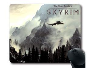 "for The Elder Scrolls V Skyrim Mousepad, Customized Rectangle Mouse pad 9"" x 10"""
