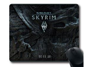 "for Skyrim logo Mousepad, Customized Rectangle Mouse pad 15.6"" x 7.9"""