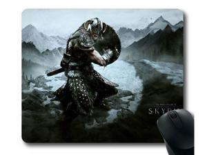 "for the Elder Scrolls V Skyrim-1 Mousepad,Customized Rectangle Mouse Pad 8"" x 9"""