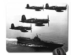 "F4U Corsair's Mouse Pad, Mousepad  10"" x 11"""