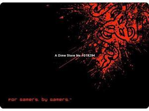 """razer mouse pad pattern red gaming mousepad notbook computer mouse pad razer 8 size large mat to mouse gamer   8"""" x 9"""""""