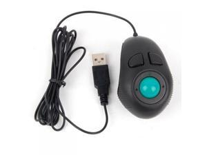Handheld USB Trackball Finger Mouse--Off-Table Design for Free and Comfortable Operation Trackball Mouse
