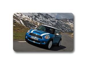 mini cooper Non Slip Cool Floor Mat Door Mat Office Garden 15x23inch