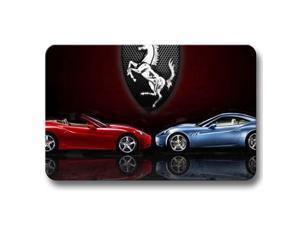 """Indoor Outdoor Pretty Non-skid Mat Rug Ferrari Doormats 18"""" x 30"""""""