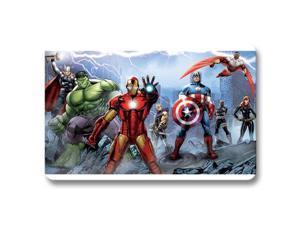 "Door Mats Bedroom Bath Comfortable Marvel's Avengers Assemble Mat Rug Non-slip 18"" x 30"""