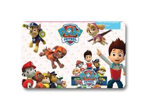 "Doormat Non Slip Indoor Kitchen art Bath mat PAW Patrol 18"" x 30"""