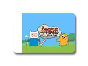 "Non-slip Doormat Cheerful Gate Pad Floor Door Adventure Time with Finn & Jake 18"" x 30"""