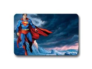 "Eco Package Decor Rug Floor Bathroom Non Skid Superman Doormat 18"" x 30"""