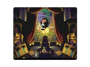 "Game Mouse Mats rubber + cloth Comfortable gaming Chrono Trigger 9"" x 10"""