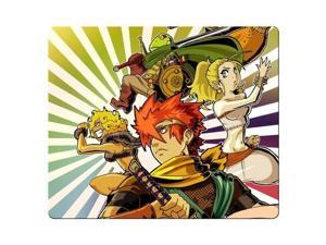 """Mousepads rubber - cloth Special-Textured Surface Non-Skid Chrono Trigger 9"""" x 10"""""""
