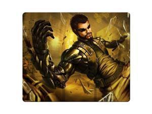 "gaming mousemat cloth / rubber nonslip backing Oblong Deus Ex Human Revolution 9"" x 10"""