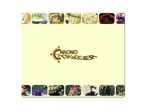 """gaming mousemats rubber - cloth Rubber Backing personal computer Chrono Trigger 8"""" x 9"""""""