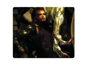 """game Mouse Pad cloth + rubber Designed for gamers Optical Deus Ex Human Revolution 10"""" x 11"""""""