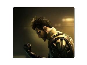 "Mousepad rubber & cloth Antiskid Rubber Bottom durable materials Deus Ex Human Revolution 9"" x 10"""