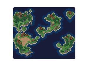 "gaming mousepad cloth rubber Precise surface Non-Skid Chrono Trigger 9"" x 10"""