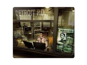 "Game Mousepads cloth rubber Fine-textured surface Custom Pattern Deus Ex Human Revolution 9"" x 10"""