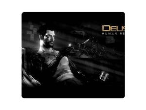 """gaming mouse mat rubber and cloth Natural personal computer Deus Ex Human Revolution 9"""" x 10"""""""
