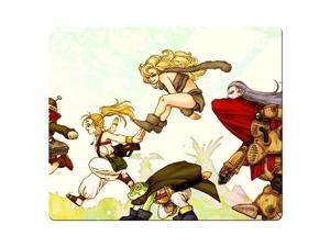 "Gaming Mouse Pad cloth and rubber accurate Desktop Chrono Trigger 9"" x 10"""