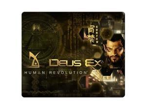 """gaming mousepads rubber + cloth Quality Attractive Deus Ex Human Revolution 9"""" x 10"""""""