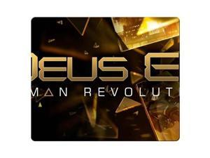 "Mousepad rubber / cloth Computer gaming Deus Ex Human Revolution 9"" x 10"""