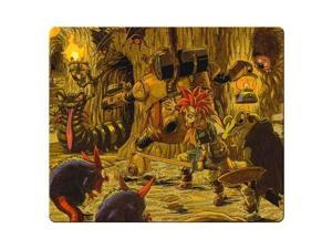"Game mousemats rubber * cloth High quality durable Chrono Trigger 9"" x 10"""